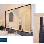 Support mural pour suspendre miroirs, panneaux, enseignes, tableaux… au mur